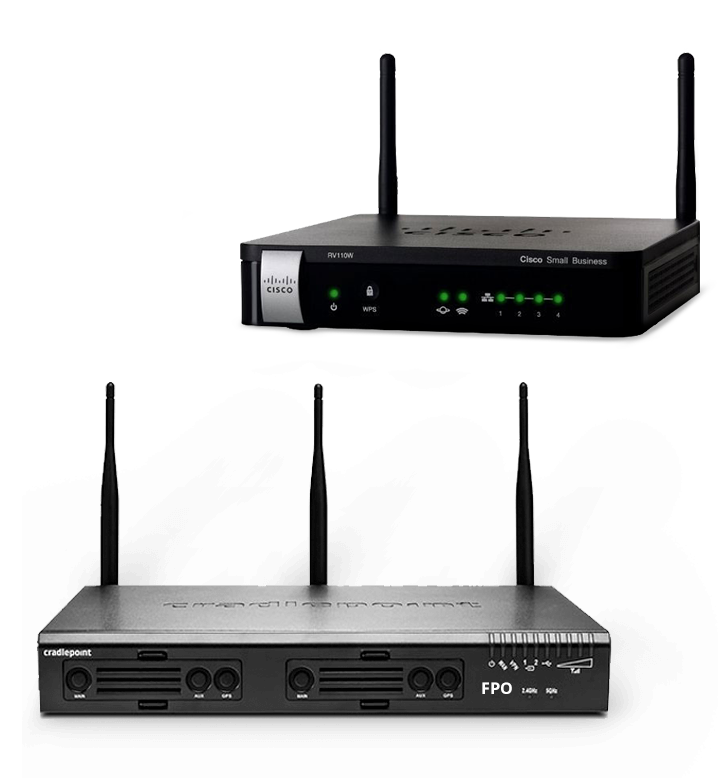 Advanced wireless routers that offer dual-modem multi-carrier support and Unified Threat Management capabilities.