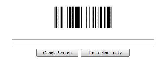 Google barcode logo