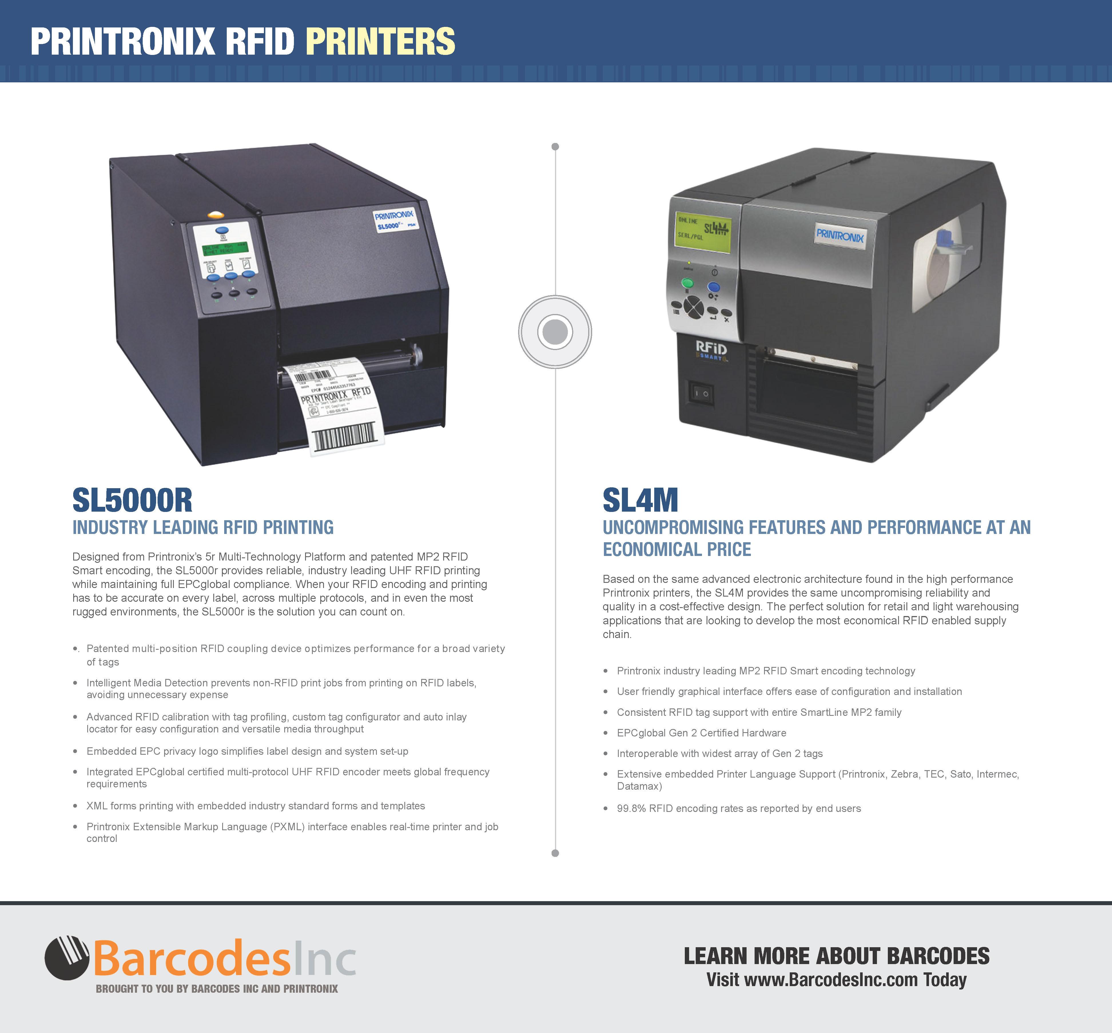 Printronix RFID Printers