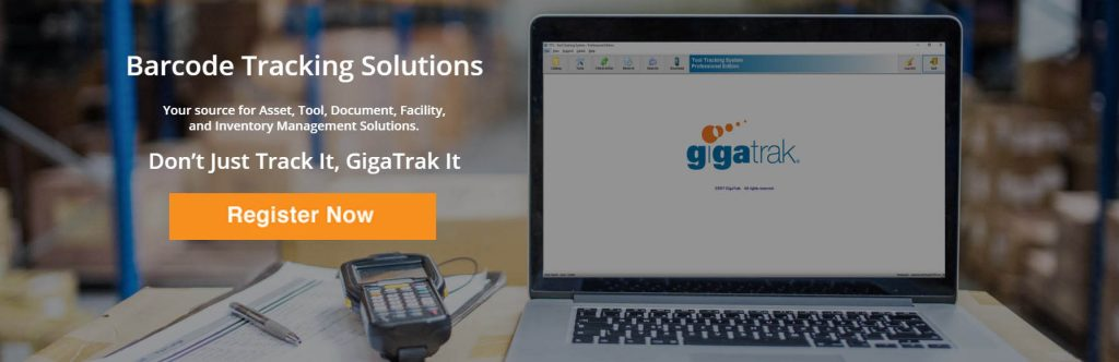 Gigatrak barcodes asset tracking free webinar. Learn how to reduce operating costs in your operations.