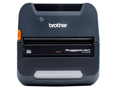 Brother RJ4250WBL Wireless Bluetooth Mobile Label and Receipt Printer
