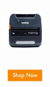 Brother RJ4250WBL Mobile Label and Receipt Printer