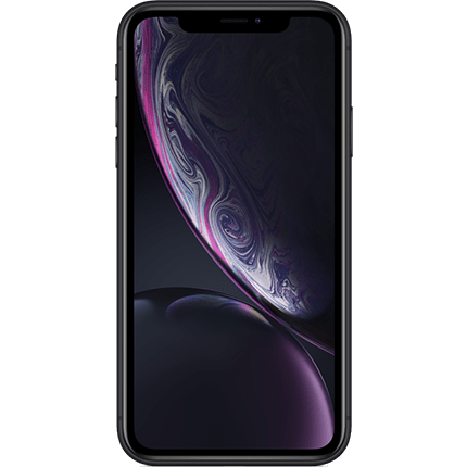 Iphone XR Front View Color Black