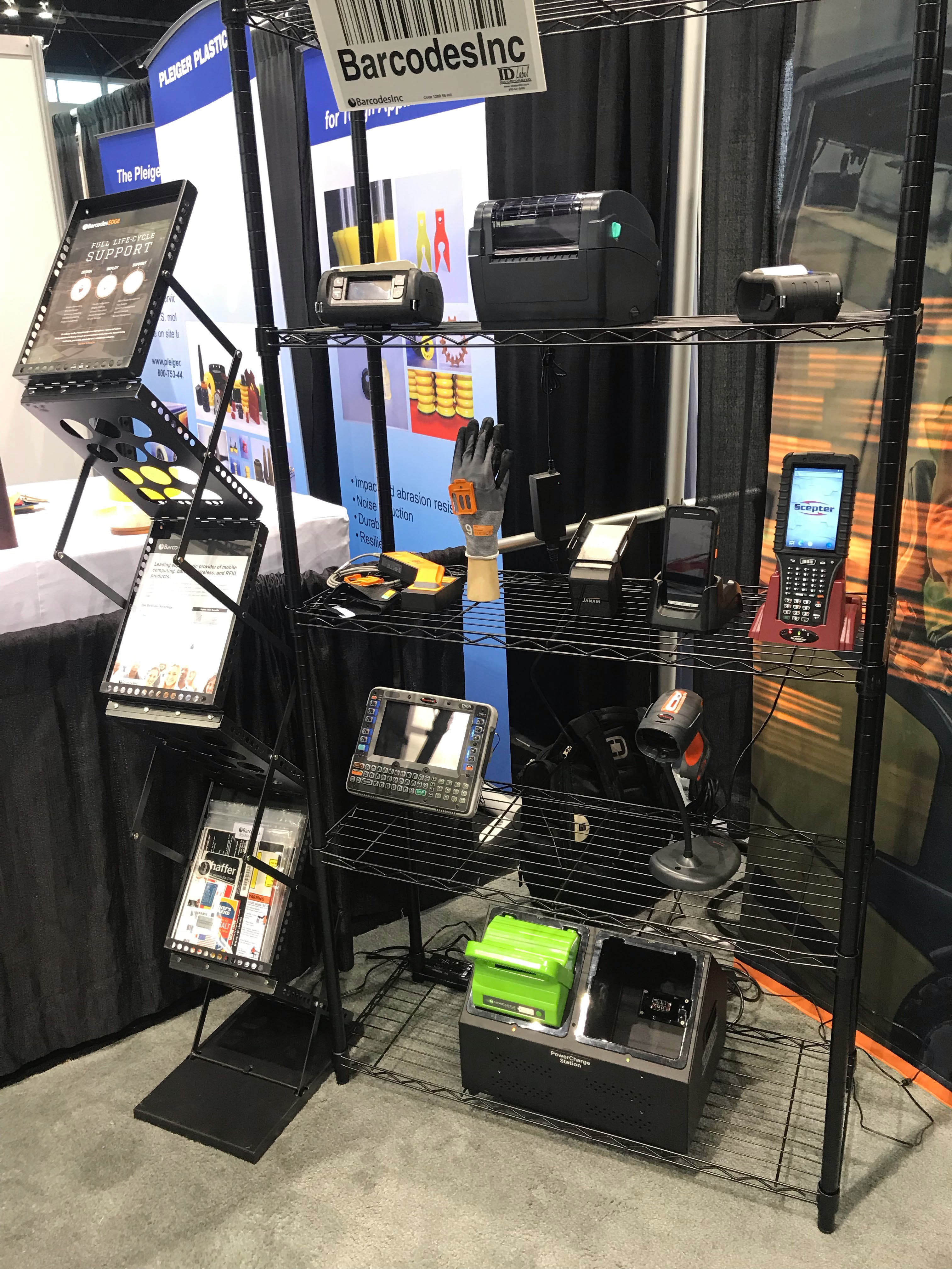 Check out Barcodes at booth# N6756!