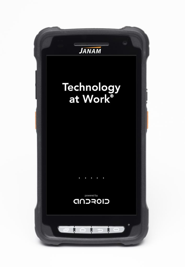 Janam XT2 Android Touch mobile computer capable with 1D and 2D (QR codes) barcode scanning .
