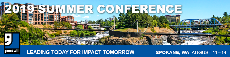 Barcodes will be attending Goodwill Summer Conference from August 11-14, 2019.