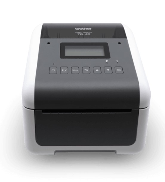 Brothers TD-4 Series Desktop Label Printer improves efficiency and productivity with high performance and quality printing in the warehouse.