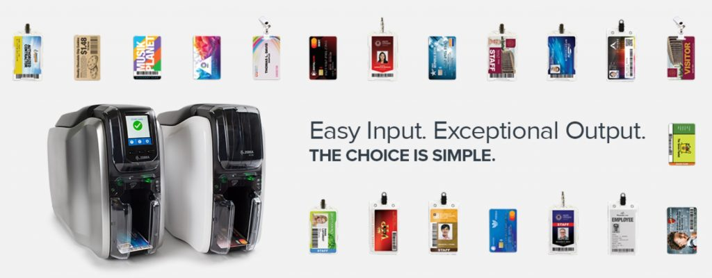 Improve operational efficiency with the Zebra ZC300 card printer from printing, printer management to application development.