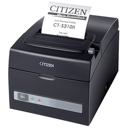 Citizen CT-S310ii eco friendly receipt printer thermal receipt printer fulfills today's demand for fast checkout times.