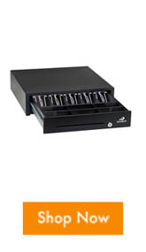 Improve your point of sale operations with the Bematech cash drawer that is compatible with the LE1015 touch screen.