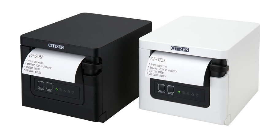 Enhanced the shopping experience with Citizen's CT-S751 receipt printer.