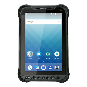 Unitech TB85 Rugged tablet is durable to be used in harsh environment for on to go data collection.