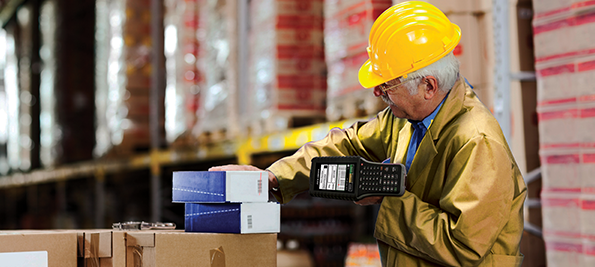 AML Scepter, an Android rugged mobile computer can improve warehouse operations for fast data capturing.