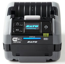 SATO PW2NX Mobile Label Printer Available at Barcodes, Inc.