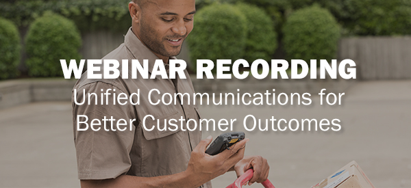 Webinar Recording: Honeywell Unified Communications for Better Customer Outcomes